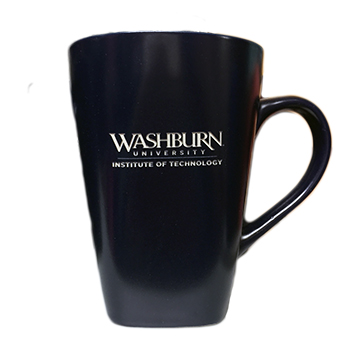 Cover Image For Mug - Washburn Tech Navy Cafe