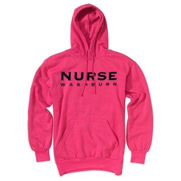 Cover Image For Hoodie - MV Sport Comfort Fleece Washburn Nurse
